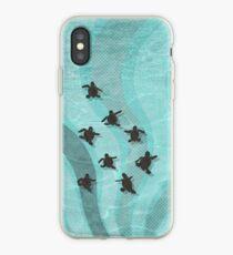 Loggerhead Sea Turtle Hatchlings iPhone Case