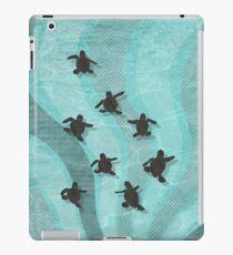 Loggerhead Sea Turtle Hatchlings iPad Case/Skin
