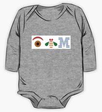 IBM Eye Bee M logo One Piece - Long Sleeve