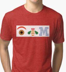 IBM Eye Bee M logo Tri-blend T-Shirt