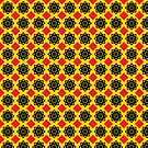 Decorative design ,pattern,cover.Red rhombus. by starchim01