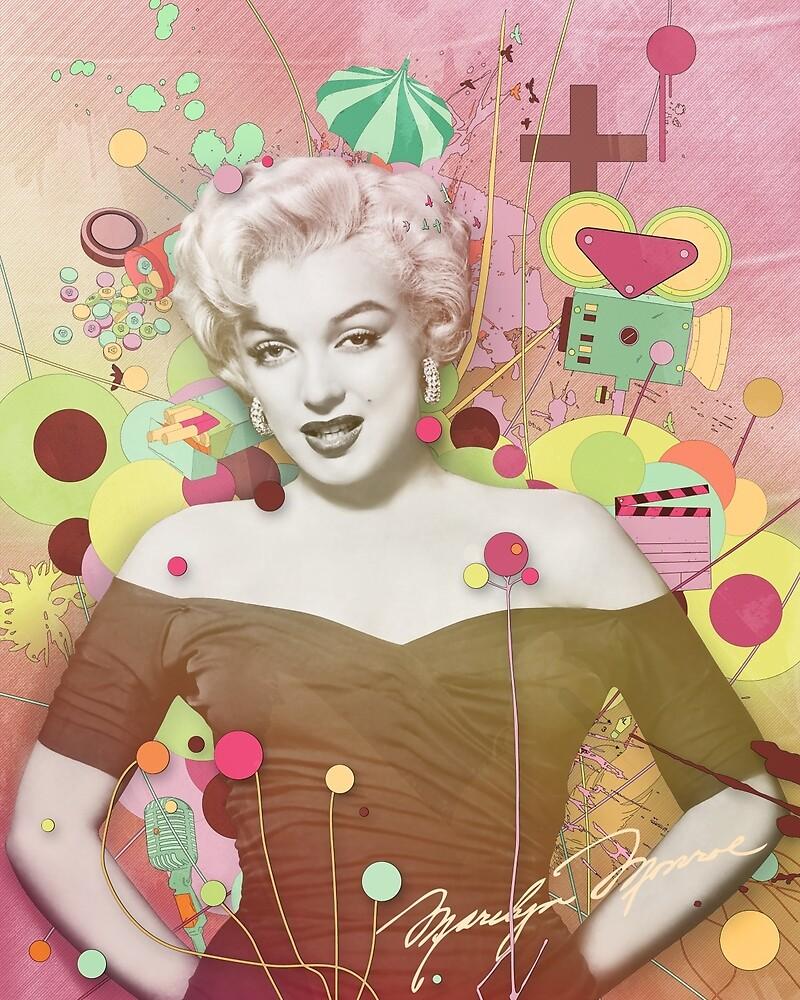 Marilyn Rendition by DesignbySolo
