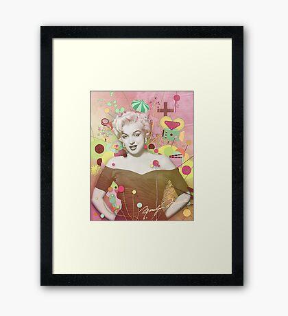 Marilyn Rendition Framed Print