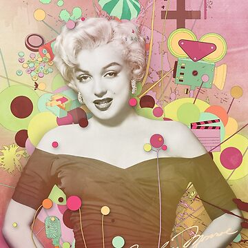 Marilyn Rendition by DesignbySolo