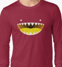 Mouth Tee Yellow Long Sleeve T-Shirt