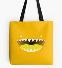 Mouth Tee Yellow Tote Bag