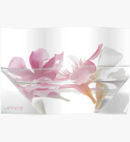 Flower coctail Poster