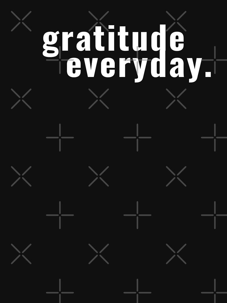 gratitude everyday - feeling grateful by TNTs