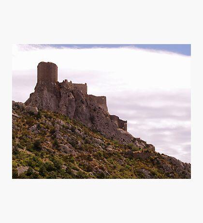 Chateau de Queribus Photographic Print