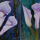 Callas lilies by Madalena Lobao-Tello