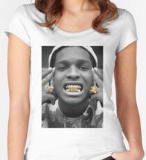 ASAP Rocky Golden Women's Fitted Scoop T-Shirt