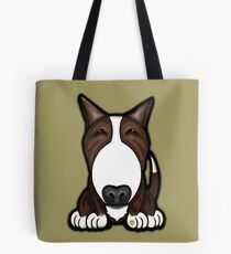 Brown Patch English Bull Terrier Tote Bag
