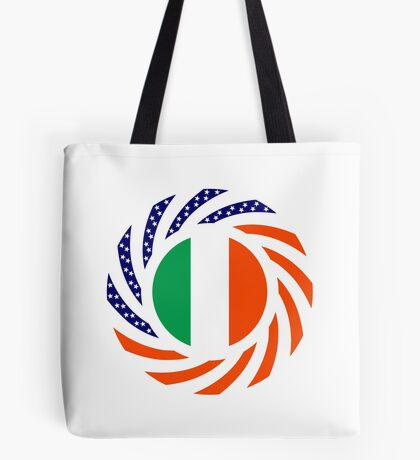 Irish American Multinational Patriot Flag Series Tote Bag