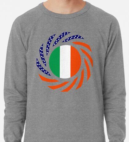Irish American Multinational Patriot Flag Series Lightweight Sweatshirt
