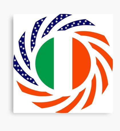 Irish American Multinational Patriot Flag Series Canvas Print