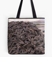 Hand-Cut Peat Fuel - Donegal Tote Bag