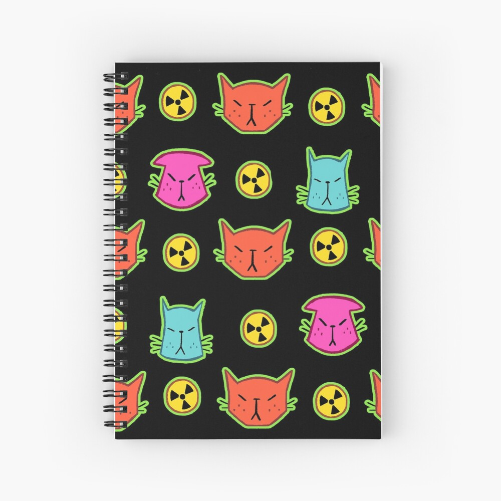 NUCLEAR CATS Spiral Notebook