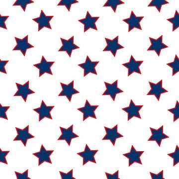 american flag stars background by robertosch