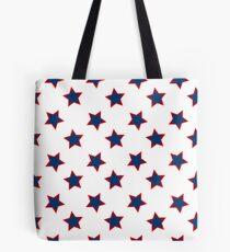american flag stars background Tote Bag