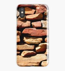 Well placed stonework iPhone Case