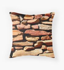 Well placed stonework Throw Pillow