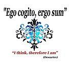 """""""Ich denke, also bin ich"""" Zitat von Descartes von Irisangel"""