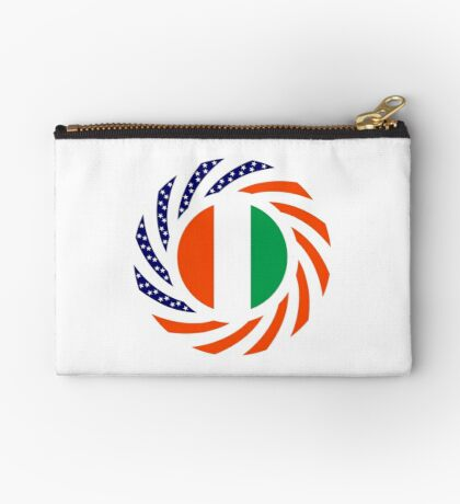 Ivory Coast American Multinational Patriot Flag Series Zipper Pouch