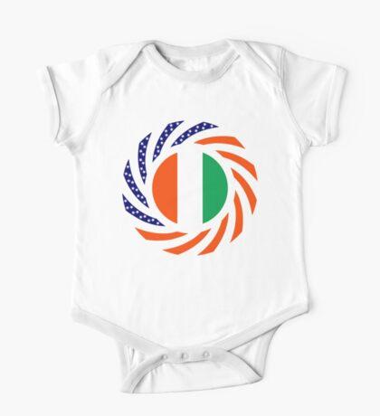 Ivory Coast American Multinational Patriot Flag Series Kids Clothes