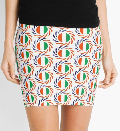 Ivory Coast American Multinational Patriot Flag Series Mini Skirt
