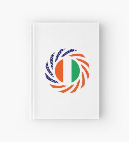 Ivory Coast American Multinational Patriot Flag Series Hardcover Journal