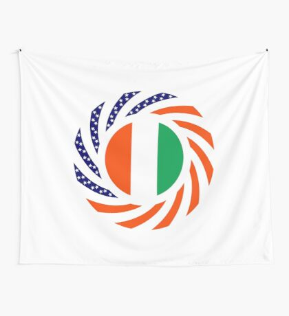 Ivory Coast American Multinational Patriot Flag Series Wall Tapestry
