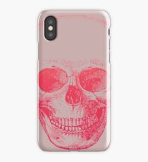 Vintage Ombre Skull Etching iPhone Case/Skin