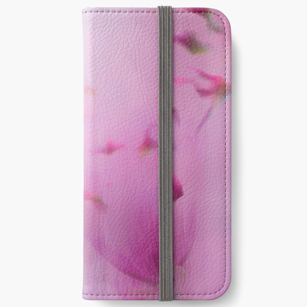 Watercolor Magnolia iPhone Wallet