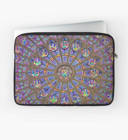 In Homage of the Notre-Dame Cathedral in Paris - LOVE wins in the end! Laptop Sleeve