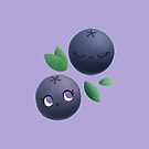 Blueberries by doodlecarrot