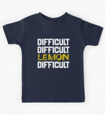 It won't be easy peasy lemon squeezy... Kids Tee