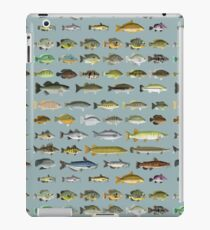 Freshwater Fish Group iPad Case/Skin