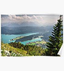 Mountain Karwendel II. Germany. Poster