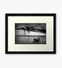 An Account of a Voyage Framed Print