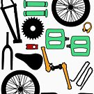 bmx parts by DAVO532