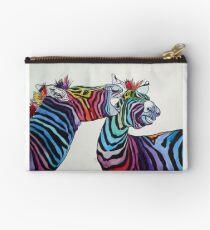 Funny zebras Studio Pouch
