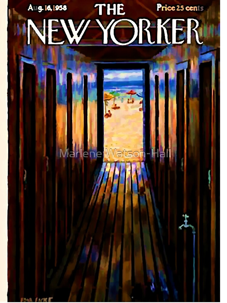 Jahrgang New Yorker Cover - ca. 1958 von Marlene Watson