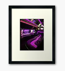 Limo Magic Framed Print