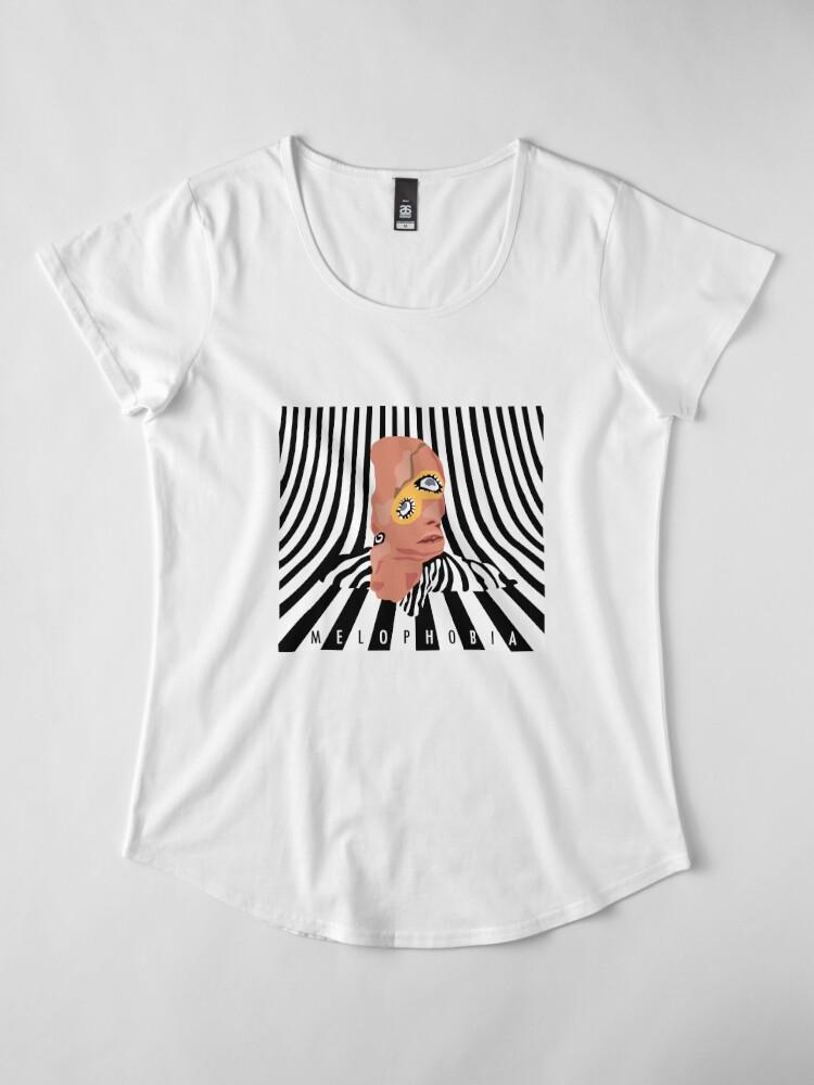 Alternative Ansicht von Melophobie - Käfig der Elefant Premium Rundhals-Shirt