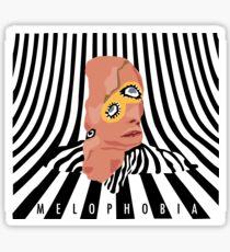 melophobia - cage the elephant Sticker