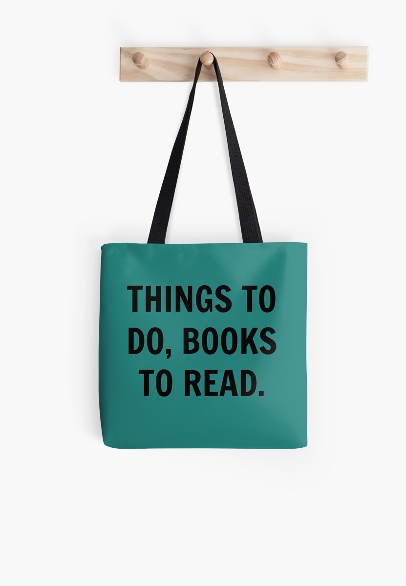 Things to do, books to read by Emily Gamez