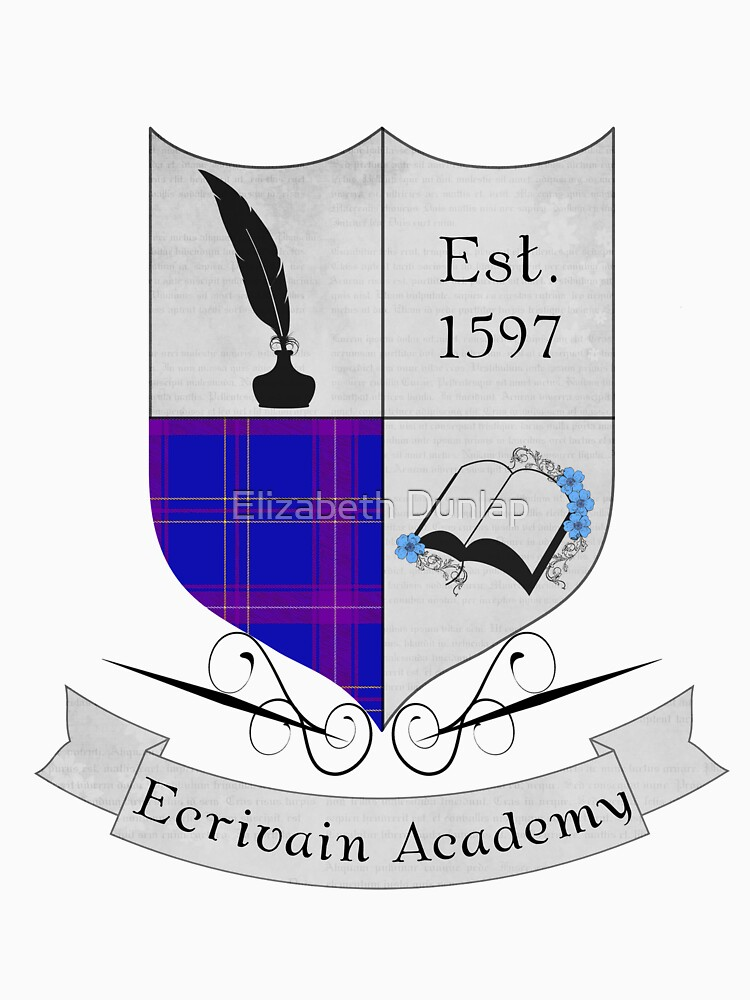 Ecrivain Academy Crest by horse1412000