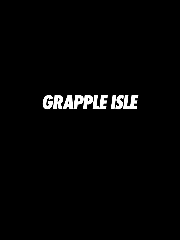 Grapple Isle - Simple Typography by clairehayes