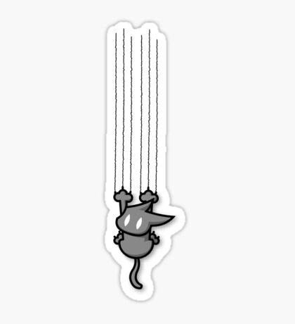 Grab the Cat! Sticker