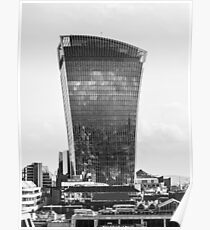 The Walkie Talkie Building, London Poster